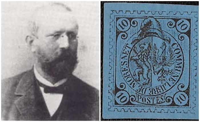 Доктор Молли и почтовая марка Мореснета