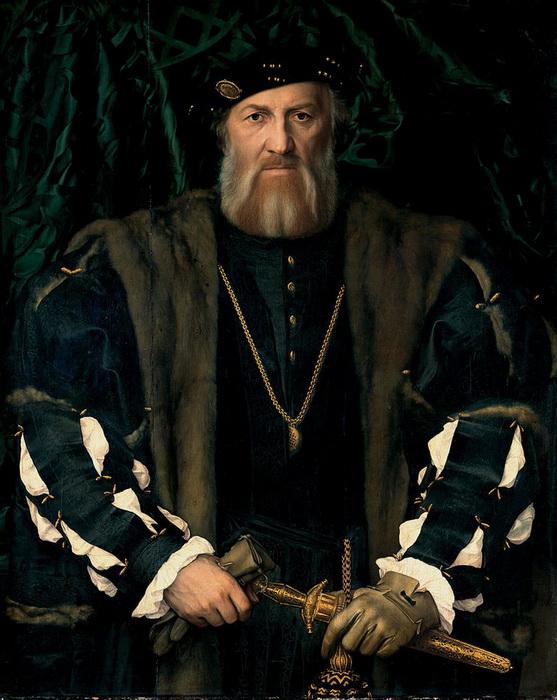 Г. Гольбейн-мл. Портрет Шарля де Солье