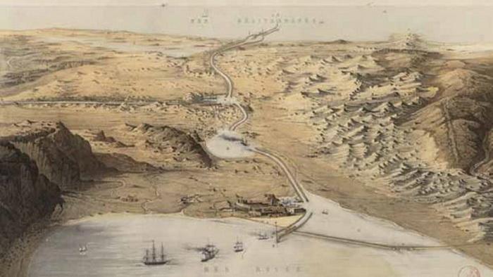 Возможно, в Древнем Египте использовали канал между Нилом и Красным морем, возможно - нет
