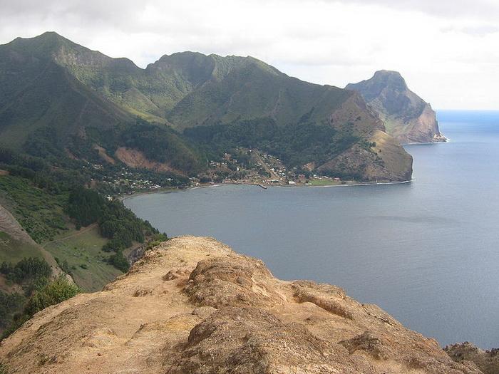 Нынешний вид острова, на который был высажен Селькирк