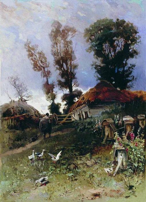 Николай Маковский. Пасека