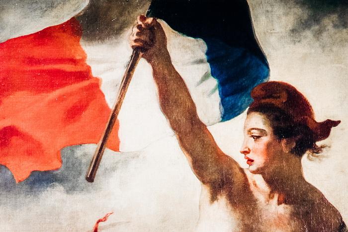 Фрагмент картины Эжена Делакруа