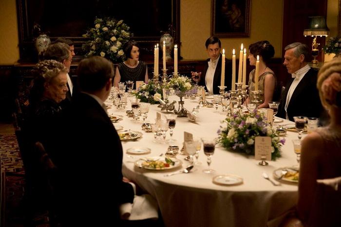 Ужин в столовой замка