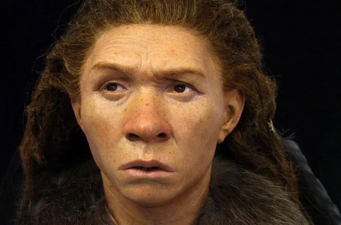 Реконструкция облика женщины-неандертальца