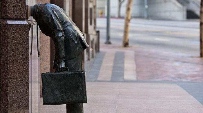 «Памятник трудоголику»