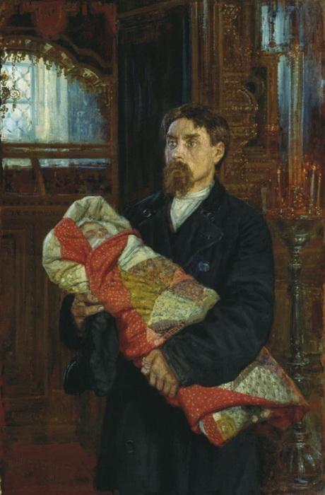 К. Савицкий. Отец