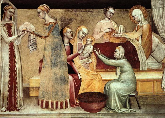 """Дж. да Милано """"Поклонение"""". Таким был живописный стиль в Европе за сто лет до Флемальского мастера"""