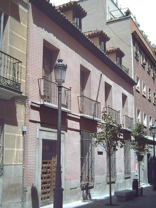 Дом в Мадриде, где жил де Вега