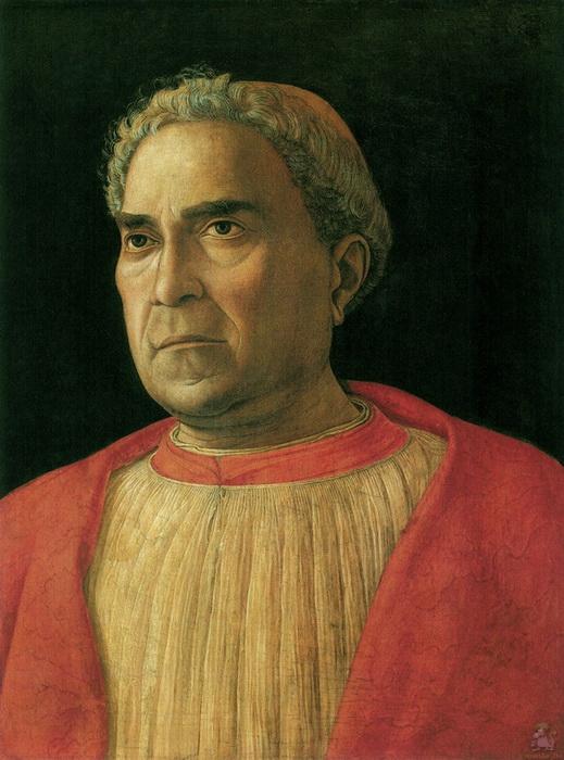 А. Мантенья. Портрет кардинала Лудовико Тревизана.