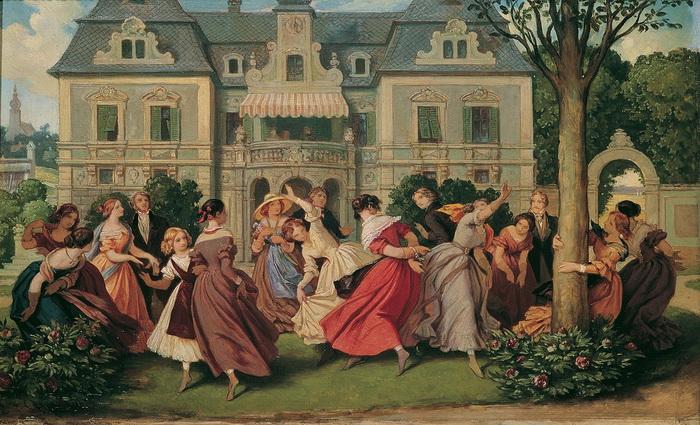 Истоки вальса можно отыскать во многих деревенских танцах разных народов