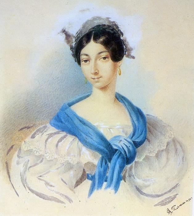 Ольга Сергеевна Пушкина (в замужестве - Павлищева)