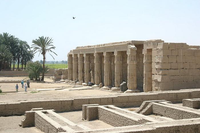 Храм фараона Сети I в Фиванском некрополе