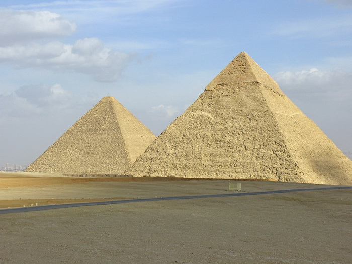 Египетские пирамиды - кенотафы