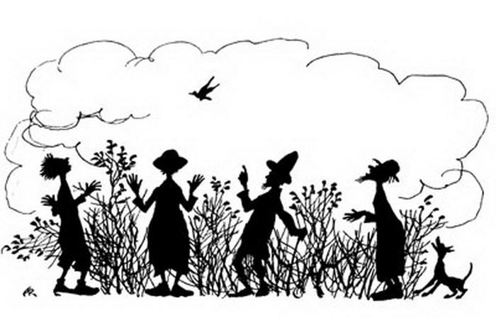 Иллюстрация А. Рэкхема