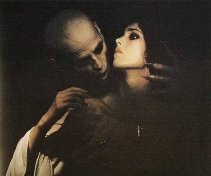 С Клаусом Кински в «Носферату - призрак ночи»