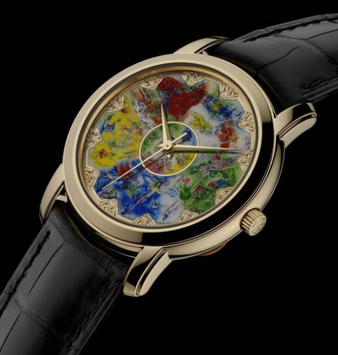 Часы, посвященные росписи плафона Гранд-опера