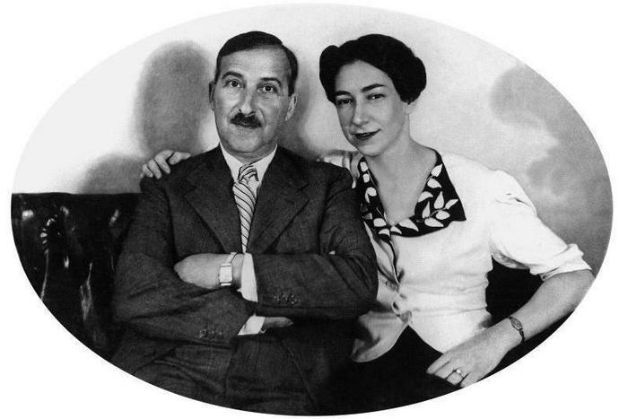 Стефан Цвейг со второй женой