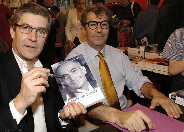 Оливье и Патрик в 2005 году