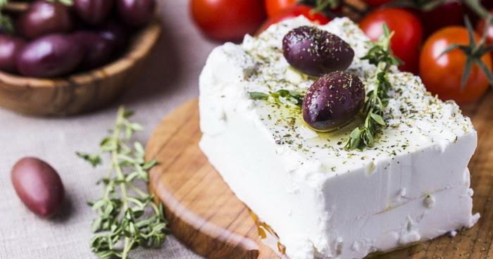 Греческий сыр фета