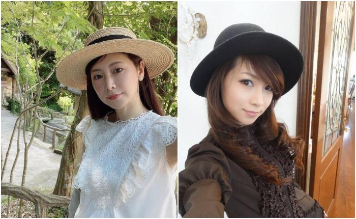 Шляпы японка носит не только ради красоты. Источник: mizutanimasako/instagram