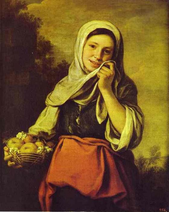 Б.Э. Мурильо. Девушка с фруктами