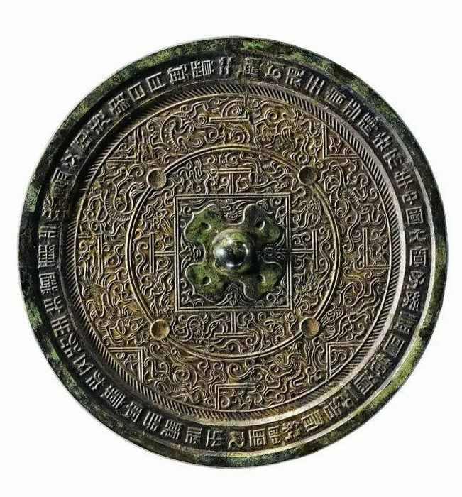 Зеркало Древнего Китая, бронза