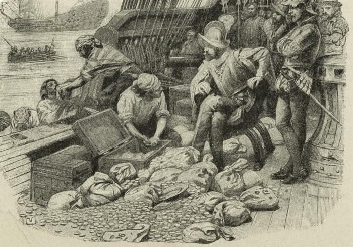 То было время каперов - мореплавателей, которые с санкции своего правителя грабили суда противника