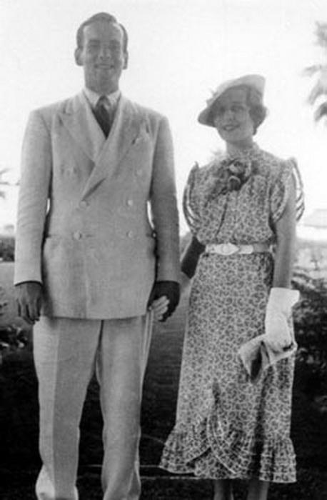 Гленн Миллер с женой Хелен Бергер