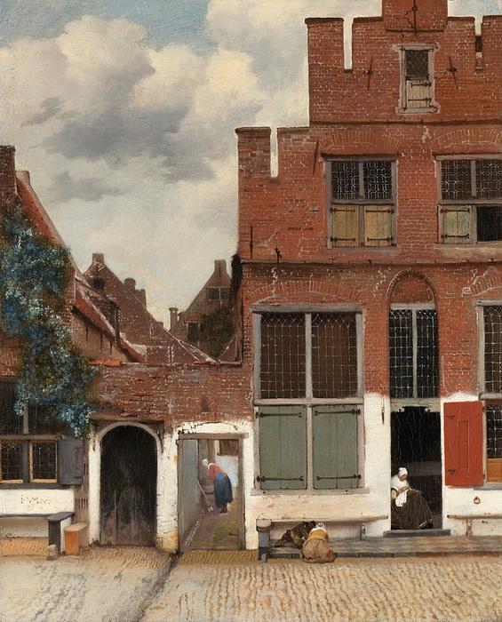 Ян Вермеер. Маленькая улица