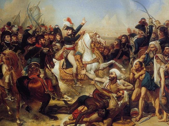 «Наполеон у пирамид»