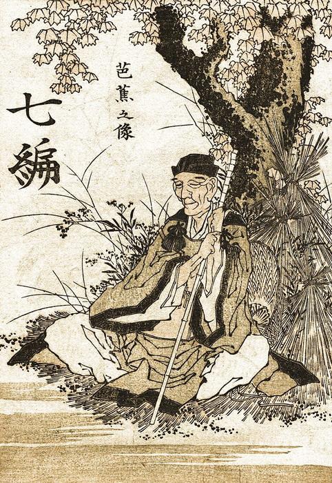 Портрет Басё конца XVIII века
