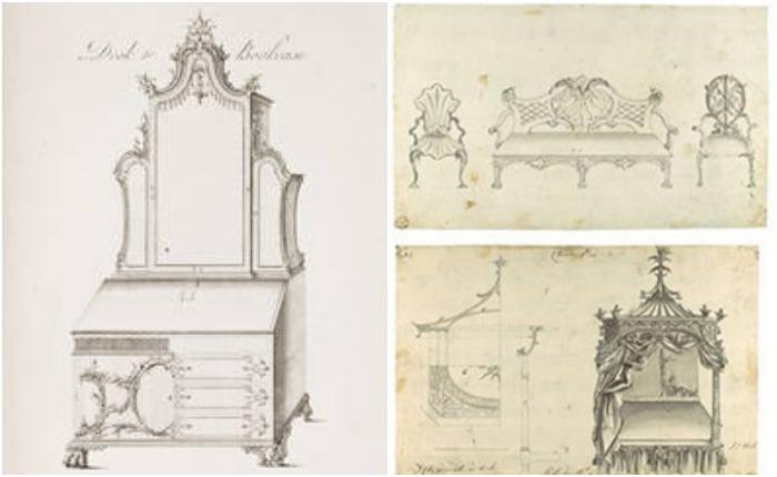 «Директор» на своих страницах показывал все существующие в то время виды мебели - такими, какими их делал Чиппендейл