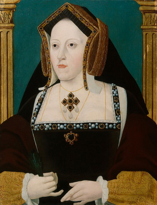 Королева Англии Екатерина Арагонская