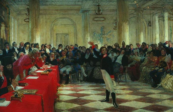 После успеха Александра Пушкина на экзамене в Лицее Сергей Львович стал проявлять к общению с сыном больший интерес