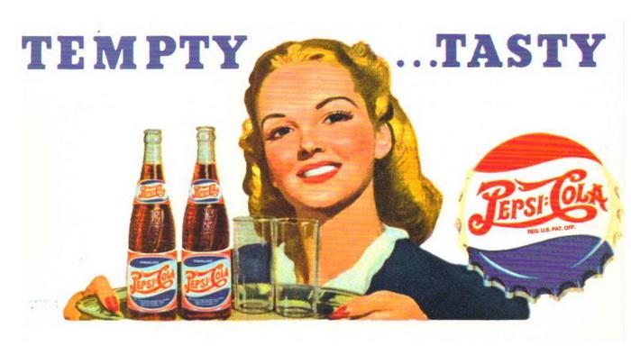 В рекламе «Пепси» активно использовались образы голливудских звезд