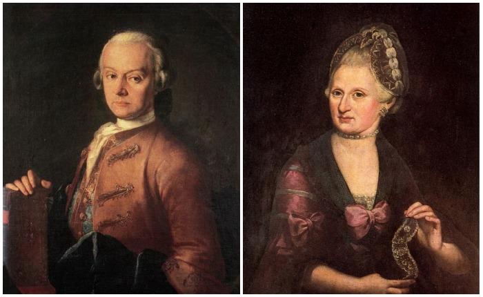 Родители Моцарта