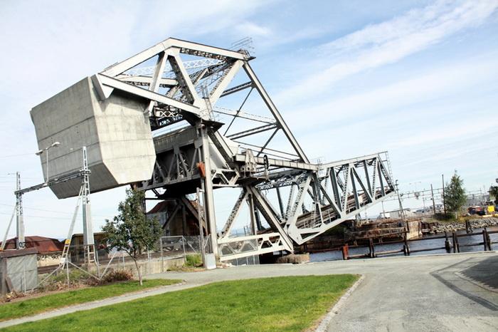 Разводной мост Скансен