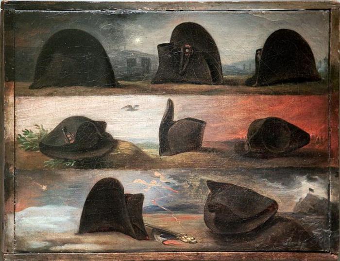 Ш. де Штейбен. Восемь шляп Наполеона