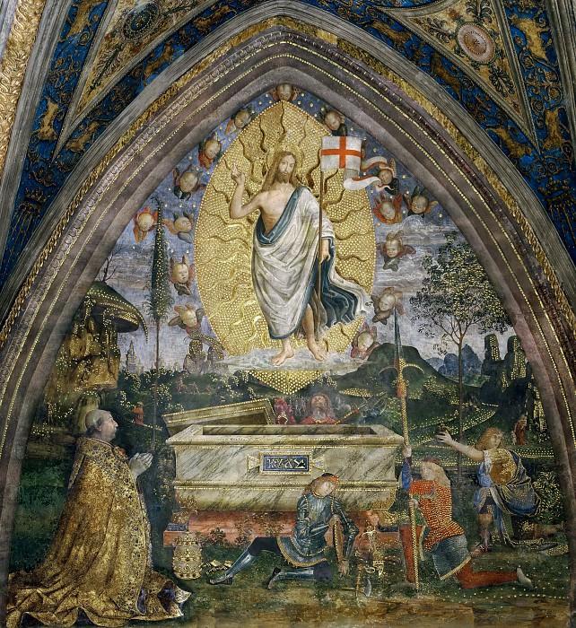 Фреска «Воскресение Христа»