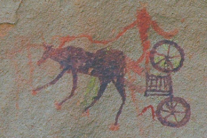 Информацию о гарамантах можно почерпнуть главным образом из наскальных рисунков Сахары