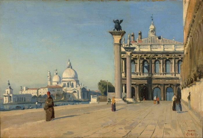 """Ж.-Б.К. Коро. """"Утро в Венеции"""""""