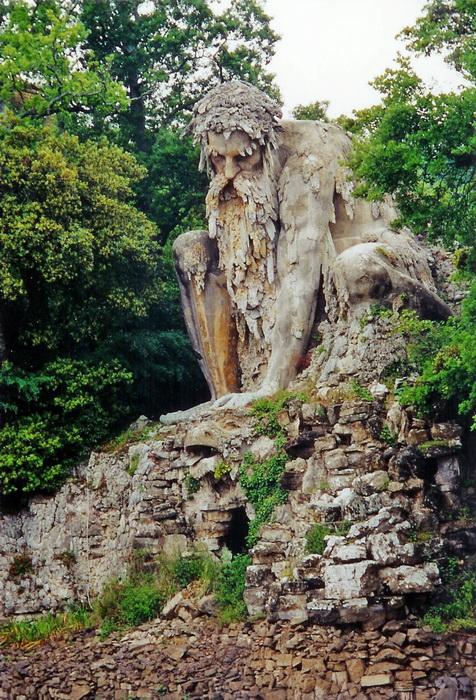 Скульптура «Аллегория Апеннин»