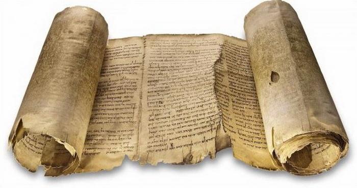 Древнегреческие книги выглядели как свитки из склеенных листов папируса
