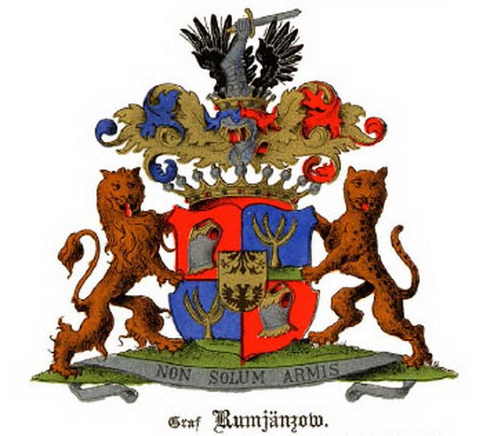 Герб графов Румянцевых
