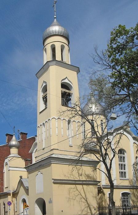 Церковь Анны Кашинской в Санкт-Петербурге