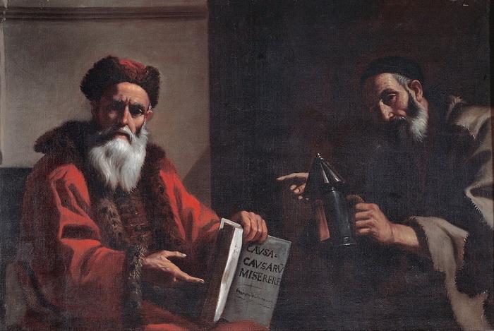 М. Прети. Платон и Диоген