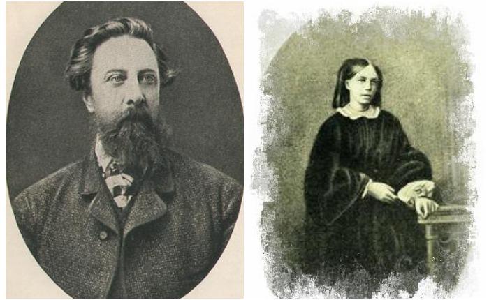 А.К. Толстой и С.А. Бахметева-Миллер