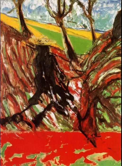 Ф. Бэкон. Эскиз «Портрет Ван Гога»