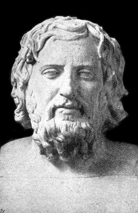 Ксенофонт, древнегреческий историк, вырос во времена Пелопоннесской войны, после ее окончания примкнул к спартанцам, но продолжал труд, начатый афинянином Фукидидом