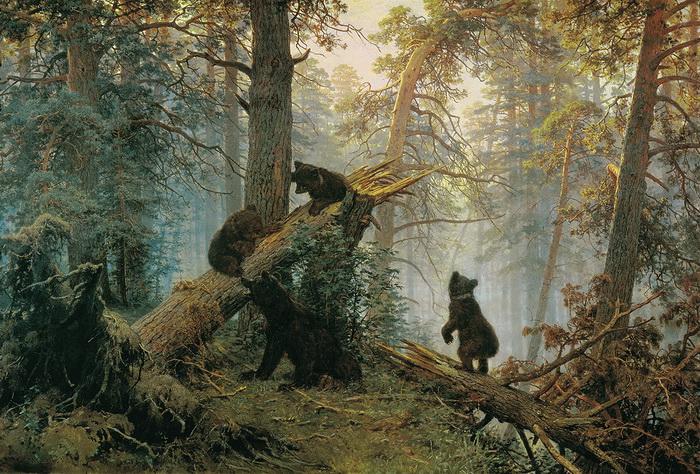 И.И. Шишкин. Утро в сосновом лесу